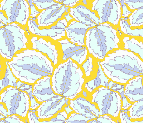 leafsquare3_copy fabric by itsrachel23 on Spoonflower - custom fabric