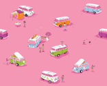 Busses Pink 