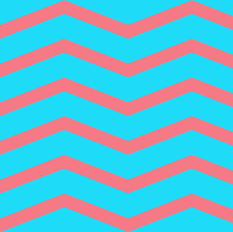 chevron bubblegum ©2012 Jill Bull fabric by palmrowprints on Spoonflower - custom fabric