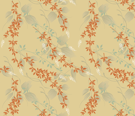 Floral Collage fabric by crowcreative on Spoonflower - custom fabric