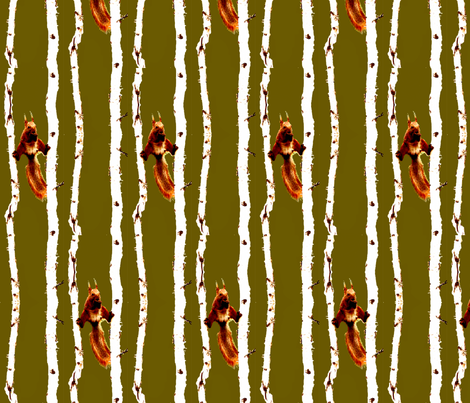 Nuts Al Fresco fabric by robin_rice on Spoonflower - custom fabric