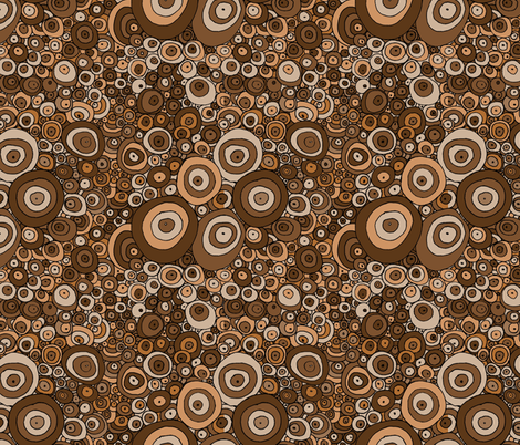 Muddy Rain REVISED VERSION fabric by wiccked on Spoonflower - custom fabric