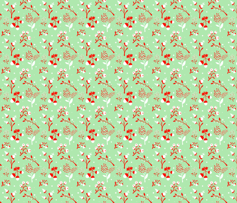 Acorns & Berries (II) fabric by something_nice on Spoonflower - custom fabric