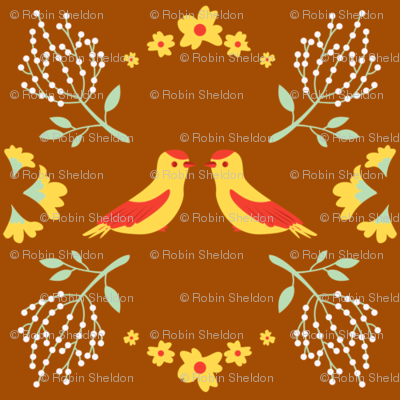 Birds and Flowers (II)