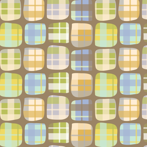 Lumberjack Squares fabric by katrinazerilli on Spoonflower - custom fabric