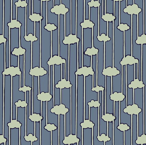 Water Cycle fabric by shirayukin on Spoonflower - custom fabric
