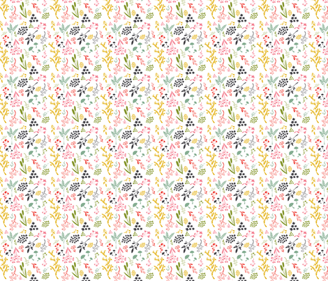 Prairie Rainbow fabric by something_nice on Spoonflower - custom fabric