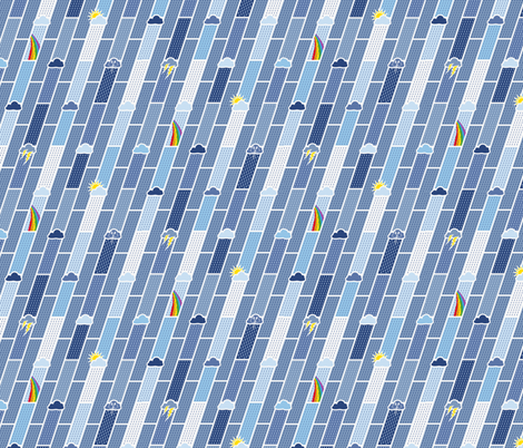 clear to cloudy fabric by annosch on Spoonflower - custom fabric