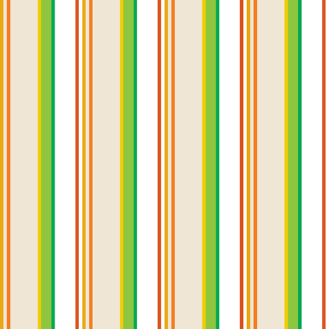 frogs_and_snails_stripe - beige