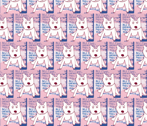 Stundog  fabric by luckybucket on Spoonflower - custom fabric