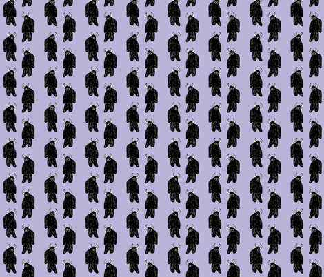 Lilac Yeti fabric by pond_ripple on Spoonflower - custom fabric