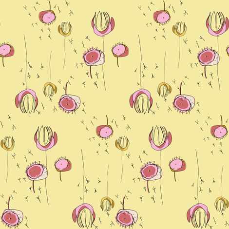 FuJing Spring fabric by luckybucket on Spoonflower - custom fabric