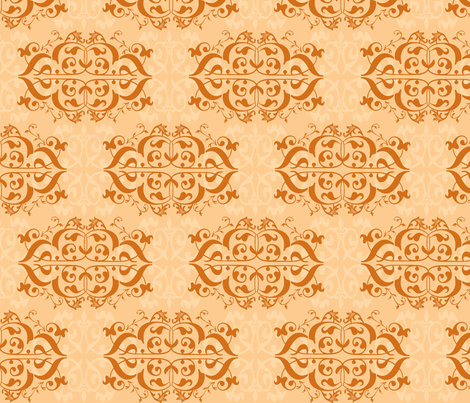 Pumpkin Spice fabric by sew*la_grace on Spoonflower - custom fabric