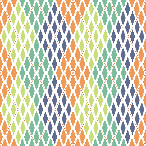 Argyle - Diamonds in the rough fabric by kristopherk on Spoonflower - custom fabric