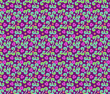 curliques_sevres_deux_audrey fabric by glimmericks on Spoonflower - custom fabric