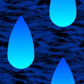Cherenkov rain