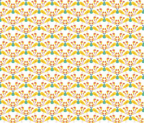 breakfast_s_birds fabric by olympe_g on Spoonflower - custom fabric