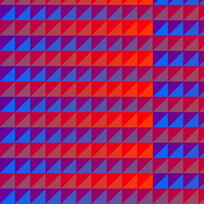 ©2011 quilt slide purple red - blue orange