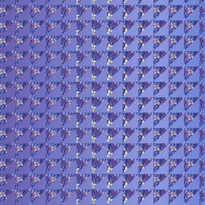 ©2011 quilt hydrangea lavender blue