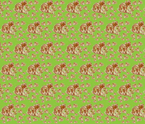 JamJax Funny Bunnies Mini fabric by jamjax on Spoonflower - custom fabric