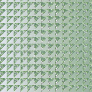 ©2011 quilt hydrangea green