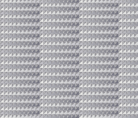 ©2011 quilt slide hydrangea gray fabric by glimmericks on Spoonflower - custom fabric