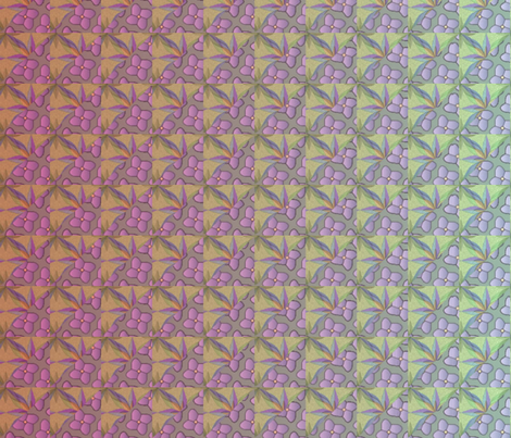 © 2011 quilt big gaughin fabric by glimmericks on Spoonflower - custom fabric