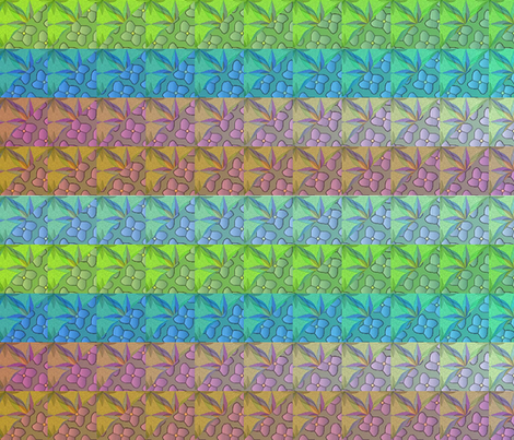 © 2011 Quilt - large multi 40 inch wide repeat fabric by glimmericks on Spoonflower - custom fabric