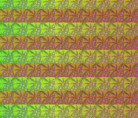 © 2011 quilt big tropic heat fabric by glimmericks on Spoonflower - custom fabric