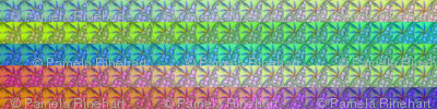 © 2011 Quilt - large multi bright 38 inch wide repeat