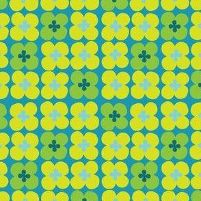 clover (teal)