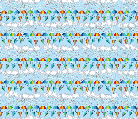 dance_des_parapluie_4_for_1 fabric by nadja_petremand on Spoonflower - custom fabric