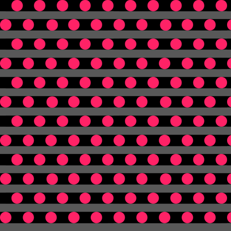 dots_and_stripes_red_v fabric by pepie on Spoonflower - custom fabric