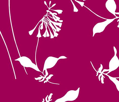 FloralPink fabric by loolu on Spoonflower - custom fabric