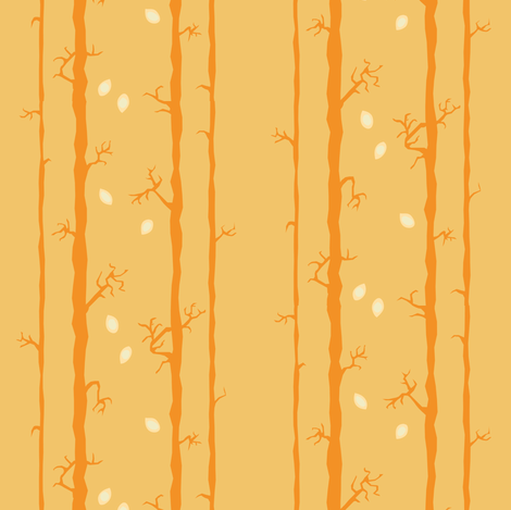 Stalk Golden fabric by bee&lotus on Spoonflower - custom fabric