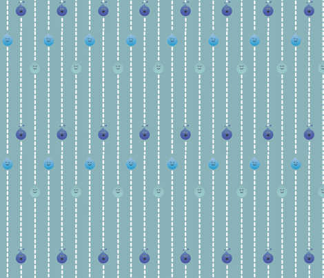 Oh No Rain! fabric by checkerboardskirt on Spoonflower - custom fabric