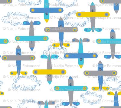 les_avions_de_léon_bleu