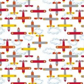 les_avions_de_léon_orange