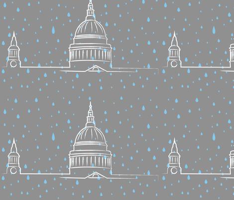 London Rain fabric by annagalvin on Spoonflower - custom fabric