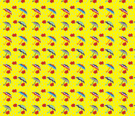 Rain Gear fabric by julie_old_crow on Spoonflower - custom fabric