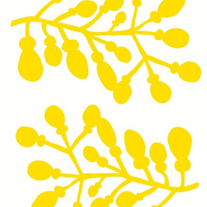 yellow branch mirror repeat