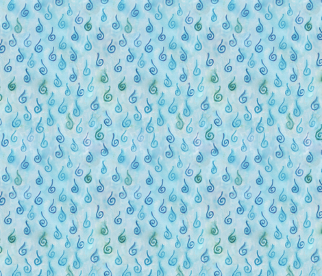 Fresh Rain fabric by chickie on Spoonflower - custom fabric