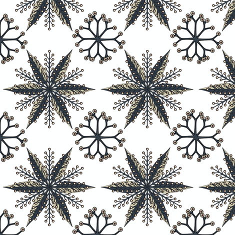 © 2011 Nordic Thunderstorm fabric by glimmericks on Spoonflower - custom fabric