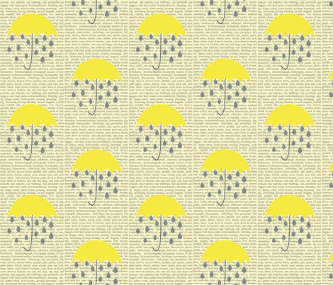 rain_copy1 fabric by graydensmama on Spoonflower - custom fabric