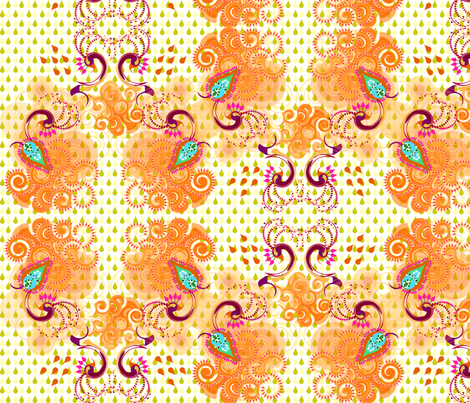 rain dance fabric by sarah_joseph on Spoonflower - custom fabric