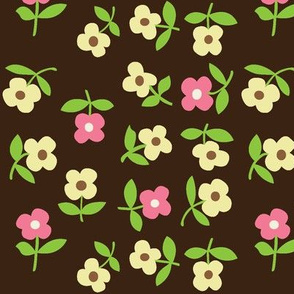 posies (brown)