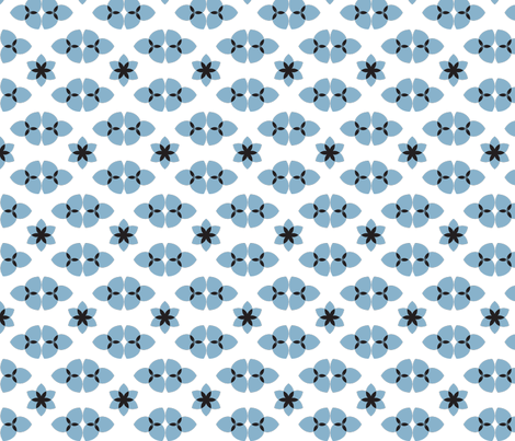BioBlue fabric by indalizaluciano on Spoonflower - custom fabric