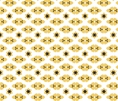 BioYellow fabric by indalizaluciano on Spoonflower - custom fabric
