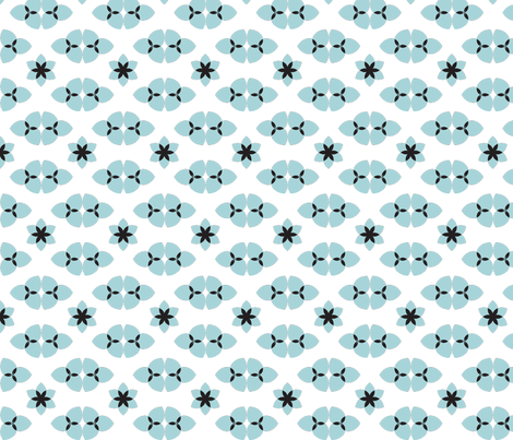 BioPaleBlue fabric by indalizaluciano on Spoonflower - custom fabric