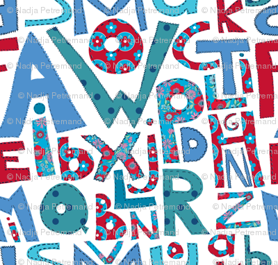 alphabet pachwork